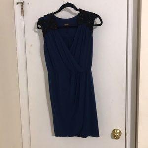 Laundry faux wrap dress